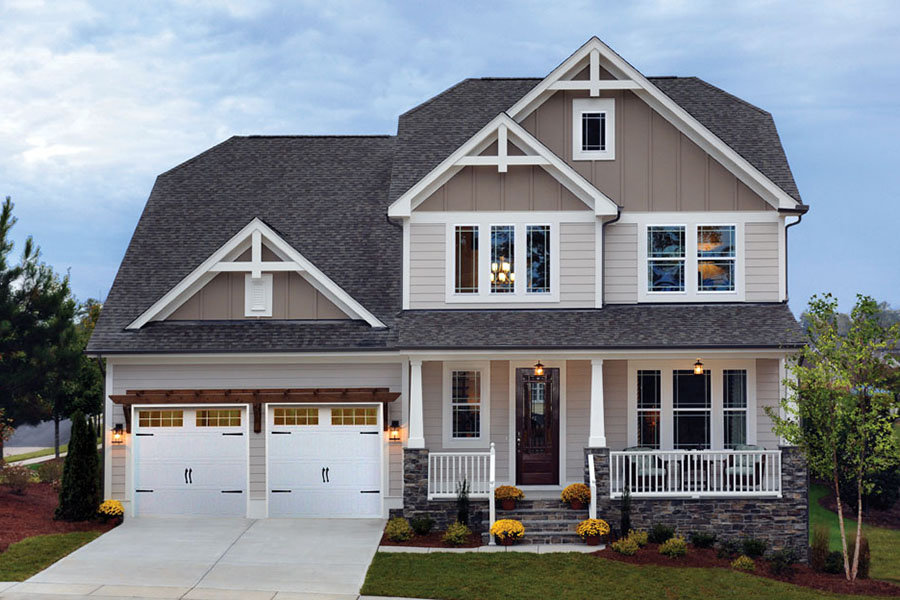 new construction homes near knightdale nc holding village